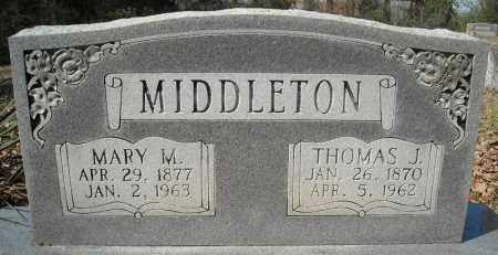MIDDLETON, MARY M. - Faulkner County, Arkansas | MARY M. MIDDLETON - Arkansas Gravestone Photos