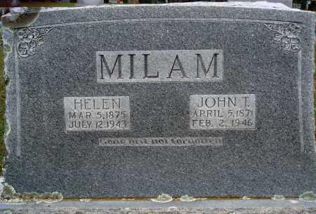 MILAM, HELEN - Faulkner County, Arkansas | HELEN MILAM - Arkansas Gravestone Photos