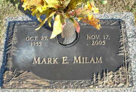 MILAM, MARK E. - Faulkner County, Arkansas | MARK E. MILAM - Arkansas Gravestone Photos