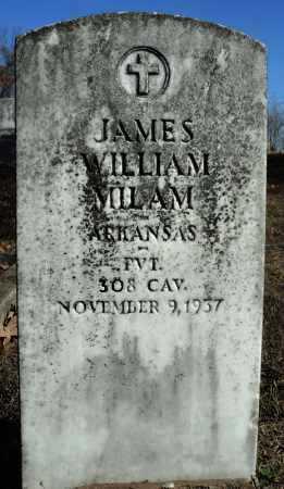 MILAM (VETERAN), JAMES WILLIAM - Faulkner County, Arkansas | JAMES WILLIAM MILAM (VETERAN) - Arkansas Gravestone Photos