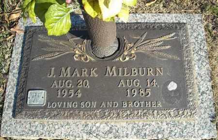 MILBURN, J. MARK - Faulkner County, Arkansas   J. MARK MILBURN - Arkansas Gravestone Photos