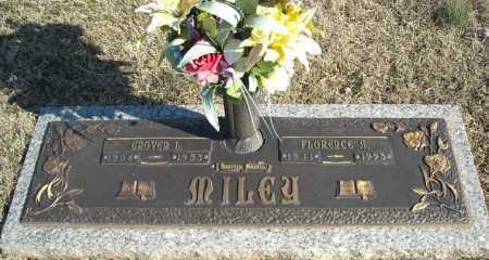 MILEY, FLORENCE A. - Faulkner County, Arkansas   FLORENCE A. MILEY - Arkansas Gravestone Photos