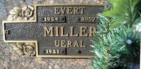 MILLER, EVERT - Faulkner County, Arkansas | EVERT MILLER - Arkansas Gravestone Photos