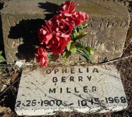 MILLER, OPHELIA - Faulkner County, Arkansas | OPHELIA MILLER - Arkansas Gravestone Photos
