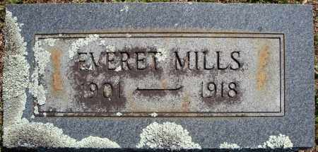 MILLS, EVERET - Faulkner County, Arkansas | EVERET MILLS - Arkansas Gravestone Photos