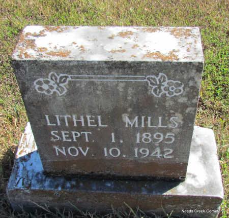 MILLS, LITHEL - Faulkner County, Arkansas   LITHEL MILLS - Arkansas Gravestone Photos
