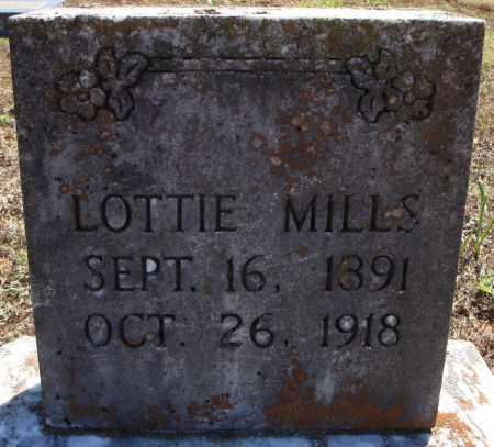 MILLS, LOTTIE - Faulkner County, Arkansas | LOTTIE MILLS - Arkansas Gravestone Photos