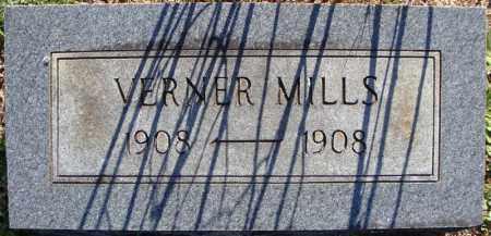 MILLS, VERNER - Faulkner County, Arkansas | VERNER MILLS - Arkansas Gravestone Photos