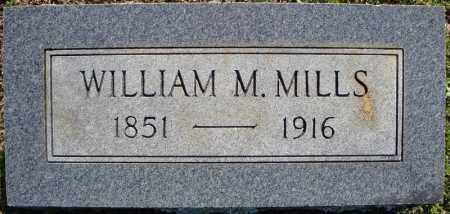 MILLS, WILLIAM M. - Faulkner County, Arkansas   WILLIAM M. MILLS - Arkansas Gravestone Photos