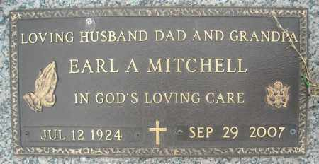MITCHELL (VETERAN), EARL A - Faulkner County, Arkansas | EARL A MITCHELL (VETERAN) - Arkansas Gravestone Photos