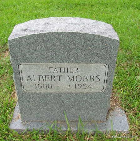 MOBBS, ALBERT - Faulkner County, Arkansas   ALBERT MOBBS - Arkansas Gravestone Photos