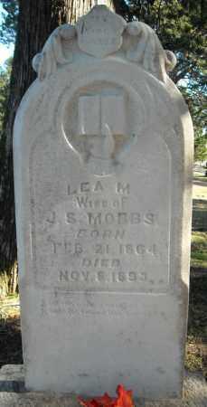 MOBBS, LEA M. - Faulkner County, Arkansas | LEA M. MOBBS - Arkansas Gravestone Photos