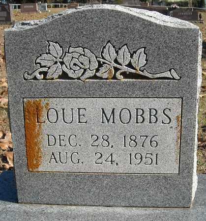 MOBBS, LOUE - Faulkner County, Arkansas | LOUE MOBBS - Arkansas Gravestone Photos