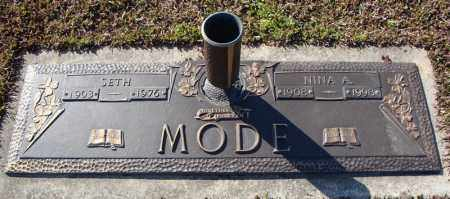 MODE, SETH - Faulkner County, Arkansas | SETH MODE - Arkansas Gravestone Photos