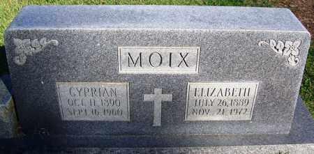 MOIX, ELIZABETH - Faulkner County, Arkansas | ELIZABETH MOIX - Arkansas Gravestone Photos