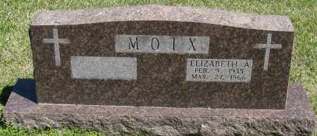 MOIX, ELIZABETH A - Faulkner County, Arkansas   ELIZABETH A MOIX - Arkansas Gravestone Photos