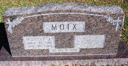 MOIX, ERNEST J - Faulkner County, Arkansas | ERNEST J MOIX - Arkansas Gravestone Photos