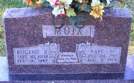 MOIX, FAYE M - Faulkner County, Arkansas | FAYE M MOIX - Arkansas Gravestone Photos