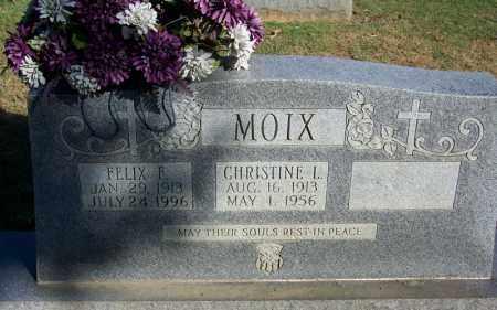 MOIX, CHRISTINE L - Faulkner County, Arkansas | CHRISTINE L MOIX - Arkansas Gravestone Photos