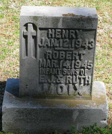 MOIX, HENRY - Faulkner County, Arkansas | HENRY MOIX - Arkansas Gravestone Photos
