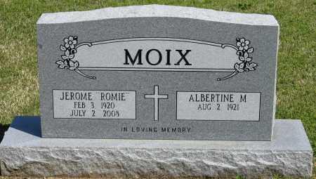 "MOIX, JEROME ""ROMIE"" - Faulkner County, Arkansas | JEROME ""ROMIE"" MOIX - Arkansas Gravestone Photos"