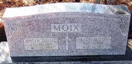 MOIX, JOSEPH DANIEL - Faulkner County, Arkansas | JOSEPH DANIEL MOIX - Arkansas Gravestone Photos