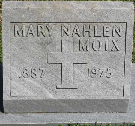 NAHLEN MOIX, MARY - Faulkner County, Arkansas   MARY NAHLEN MOIX - Arkansas Gravestone Photos
