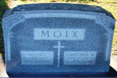 MOIX, CHRISTINA M - Faulkner County, Arkansas | CHRISTINA M MOIX - Arkansas Gravestone Photos