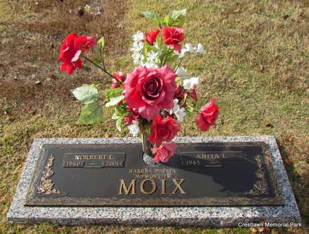 MOIX (VETERAN), NORBERT L - Faulkner County, Arkansas   NORBERT L MOIX (VETERAN) - Arkansas Gravestone Photos