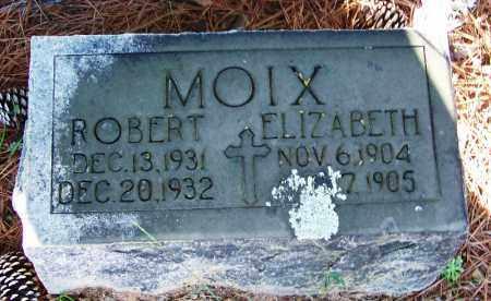 MOIX, ELIZABETH - Faulkner County, Arkansas   ELIZABETH MOIX - Arkansas Gravestone Photos