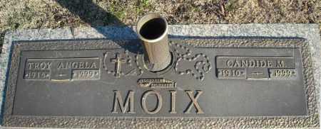 MOIX, TROY ANGELA - Faulkner County, Arkansas | TROY ANGELA MOIX - Arkansas Gravestone Photos