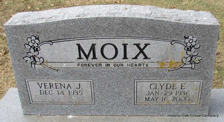 MOIX, CLYDE E. - Faulkner County, Arkansas | CLYDE E. MOIX - Arkansas Gravestone Photos