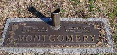 MONTGOMERY, EDMOND A. - Faulkner County, Arkansas   EDMOND A. MONTGOMERY - Arkansas Gravestone Photos