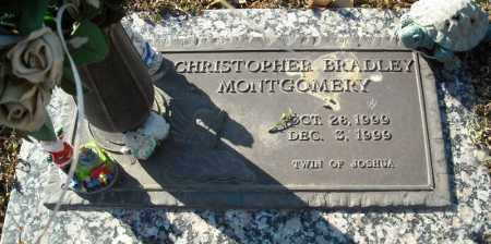 MONTGOMERY, CHRISTOPHER BRADLEY - Faulkner County, Arkansas | CHRISTOPHER BRADLEY MONTGOMERY - Arkansas Gravestone Photos