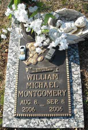 MONTGOMERY, WILLIAM MICHAEL - Faulkner County, Arkansas | WILLIAM MICHAEL MONTGOMERY - Arkansas Gravestone Photos