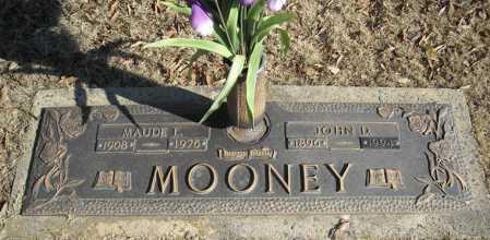 MOONEY, JOHN D. - Faulkner County, Arkansas | JOHN D. MOONEY - Arkansas Gravestone Photos