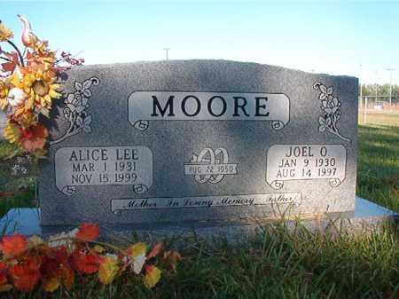 MOORE, JOEL O. - Faulkner County, Arkansas   JOEL O. MOORE - Arkansas Gravestone Photos