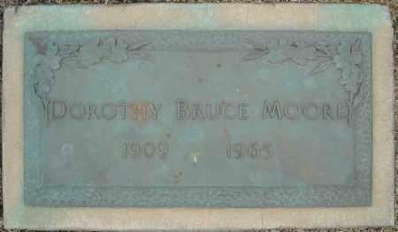 BRUCE MOORE, DOROTHY - Faulkner County, Arkansas | DOROTHY BRUCE MOORE - Arkansas Gravestone Photos