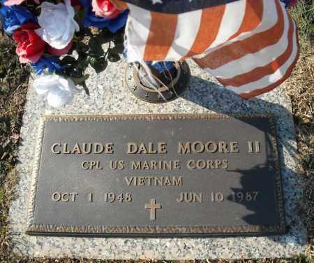 MOORE II (VETERAN VIET), CLAUDE DALE - Faulkner County, Arkansas   CLAUDE DALE MOORE II (VETERAN VIET) - Arkansas Gravestone Photos