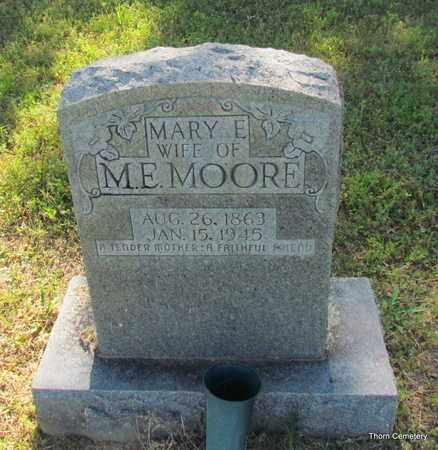 HARDIN MOORE, MARY E. - Faulkner County, Arkansas | MARY E. HARDIN MOORE - Arkansas Gravestone Photos