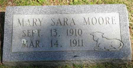 MOORE, MARY SARA - Faulkner County, Arkansas   MARY SARA MOORE - Arkansas Gravestone Photos