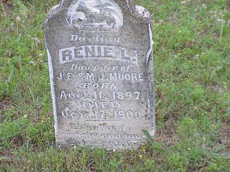 MOORE, RENIE L. - Faulkner County, Arkansas | RENIE L. MOORE - Arkansas Gravestone Photos