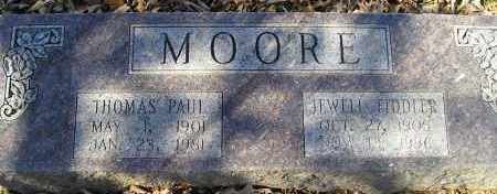 MOORE, THOMAS PAUL - Faulkner County, Arkansas | THOMAS PAUL MOORE - Arkansas Gravestone Photos