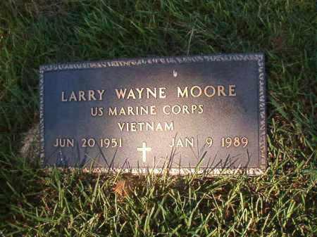 MOORE (VETERAN VIET), LARRY WAYNE - Faulkner County, Arkansas   LARRY WAYNE MOORE (VETERAN VIET) - Arkansas Gravestone Photos
