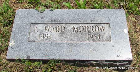 MORROW, F WARD - Faulkner County, Arkansas | F WARD MORROW - Arkansas Gravestone Photos