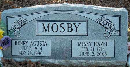 MOSBY, HENRY AGUSTA - Faulkner County, Arkansas | HENRY AGUSTA MOSBY - Arkansas Gravestone Photos