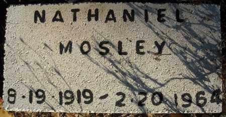 MOSLEY, NATHANIEL - Faulkner County, Arkansas   NATHANIEL MOSLEY - Arkansas Gravestone Photos