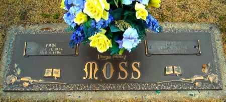 MOSS, FAYE - Faulkner County, Arkansas | FAYE MOSS - Arkansas Gravestone Photos