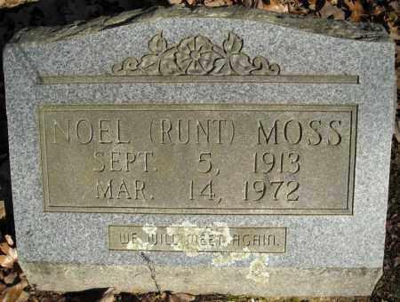 MOSS, NOEL (RUNT) - Faulkner County, Arkansas | NOEL (RUNT) MOSS - Arkansas Gravestone Photos
