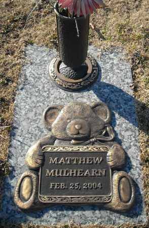 MULHEARN, MATTHEW - Faulkner County, Arkansas | MATTHEW MULHEARN - Arkansas Gravestone Photos